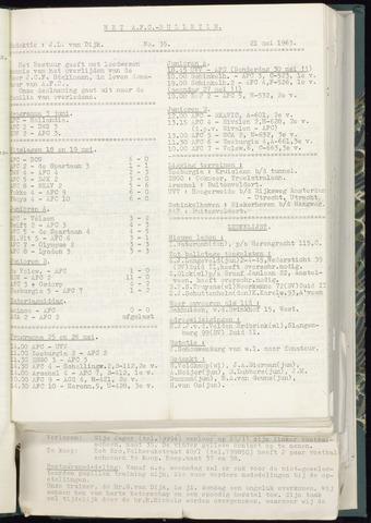 Bulletins (vnl. opstellingen) 1963-05-15