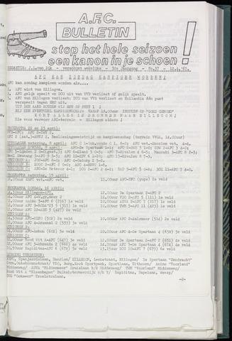 Bulletins (vnl. opstellingen) 1967-04-12