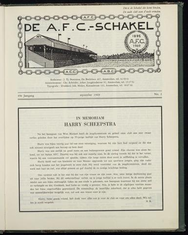 Schakels (clubbladen) 1969-09-01