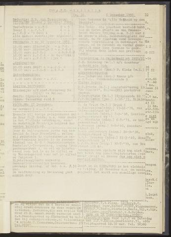 Bulletins (vnl. opstellingen) 1950-12-06