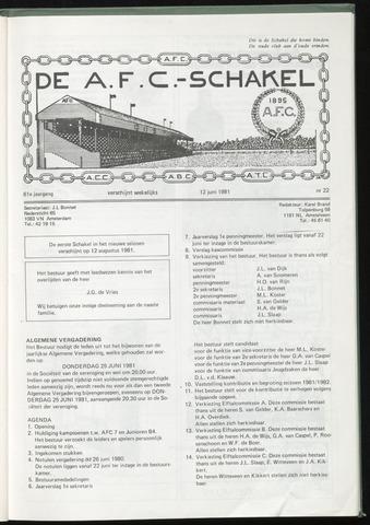 Schakels (clubbladen) 1981-06-12