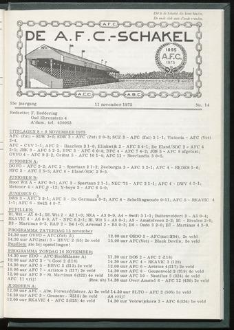 Schakels (clubbladen) 1975-11-11