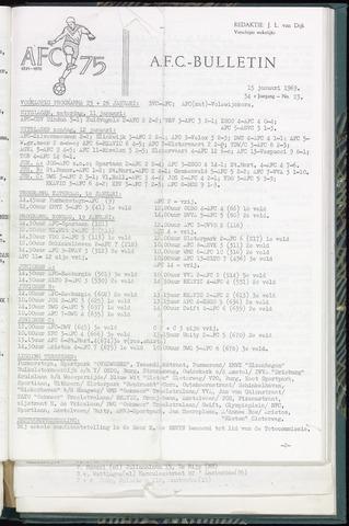 Bulletins (vnl. opstellingen) 1969-01-15