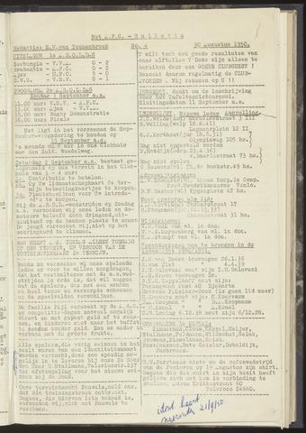 Bulletins (vnl. opstellingen) 1950-08-30