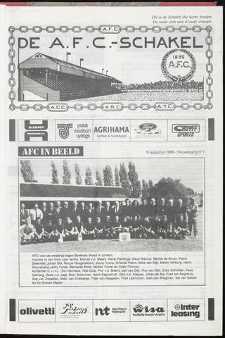 Schakels (clubbladen) 1989-08-16