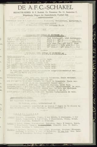 Schakels (clubbladen) 1942-11-27