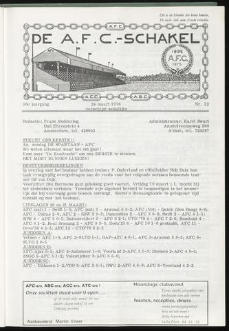 Schakels (clubbladen) 1976-03-24