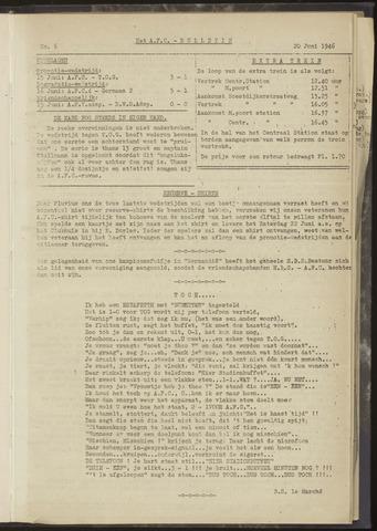 Bulletins (vnl. opstellingen) 1946-06-20