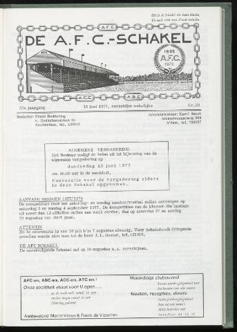 Schakels (clubbladen) 1977-06-15