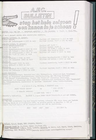 Bulletins (vnl. opstellingen) 1967-01-11