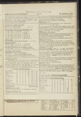 Bulletins (vnl. opstellingen) 1950-01-24