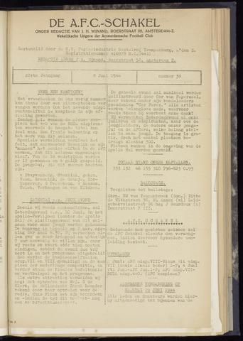 Schakels (clubbladen) 1944-06-08