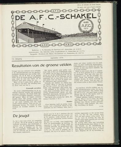 Schakels (clubbladen) 1970-10-01
