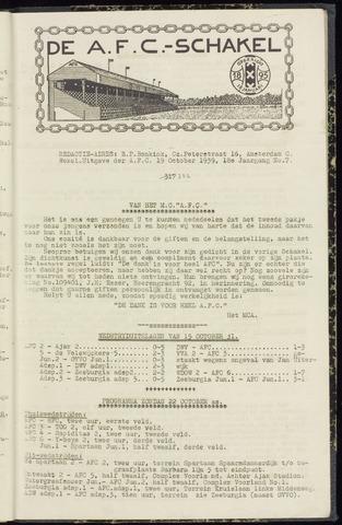 Schakels (clubbladen) 1939-10-19