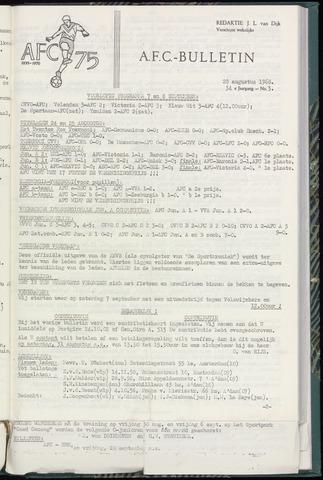 Bulletins (vnl. opstellingen) 1968-08-28