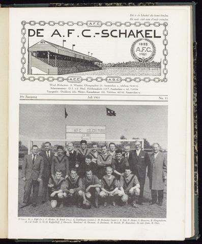 Schakels (clubbladen) 1961-07-01