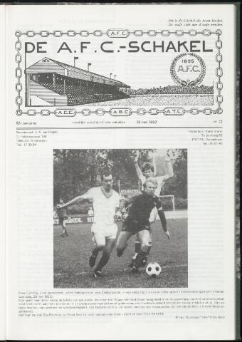 Schakels (clubbladen) 1982-05-26