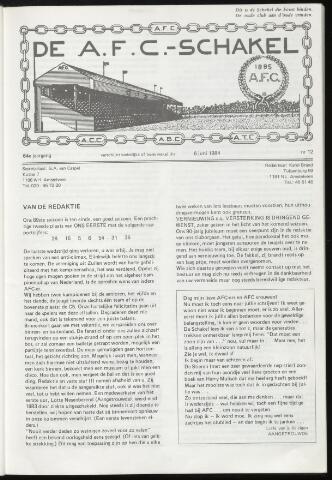 Schakels (clubbladen) 1984-06-06