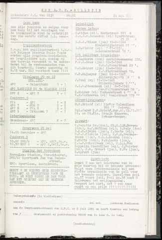 Bulletins (vnl. opstellingen) 1961-05-24