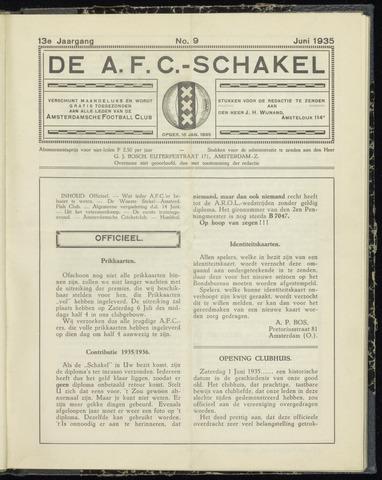 Schakels (clubbladen) 1935-06-01