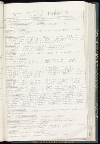 Bulletins (vnl. opstellingen) 1965-02-10