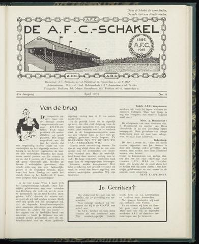 Schakels (clubbladen) 1965-04-01