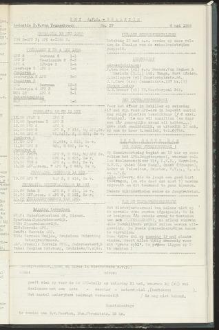 Bulletins (vnl. opstellingen) 1958-05-06