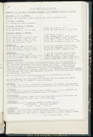 Bulletins (vnl. opstellingen) 1966-01-05