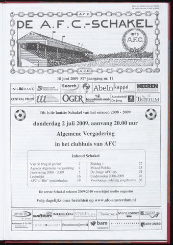Schakels (clubbladen) 2009-06-18