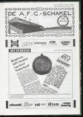 Schakels (clubbladen) 1988-06-08