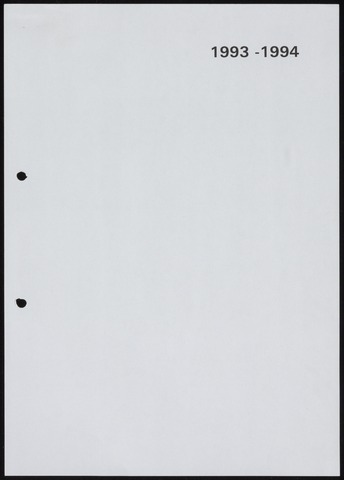 Jaarverslagen 1994-06-01