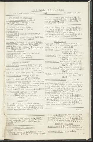Bulletins (vnl. opstellingen) 1956-08-21
