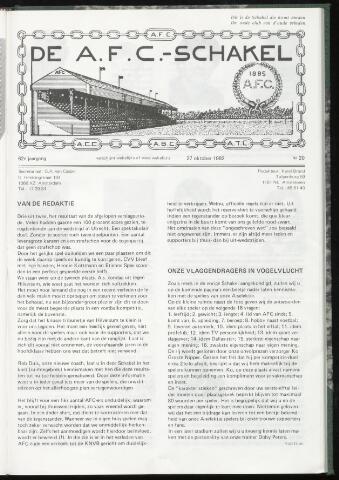 Schakels (clubbladen) 1982-10-27