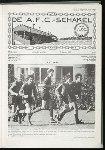Schakels (clubbladen) 1980-10-15