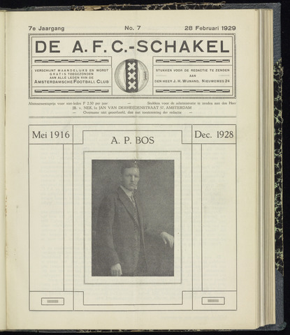 Schakels (clubbladen) 1929-02-28