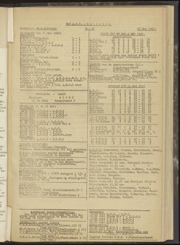 Bulletins (vnl. opstellingen) 1947-05-16