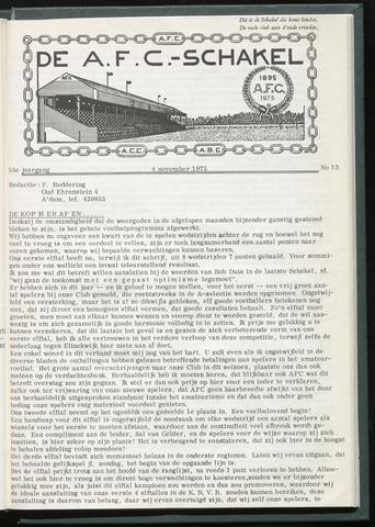 Schakels (clubbladen) 1975-11-04