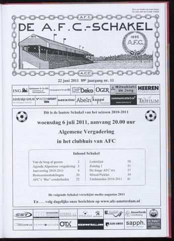 Schakels (clubbladen) 2011-06-22