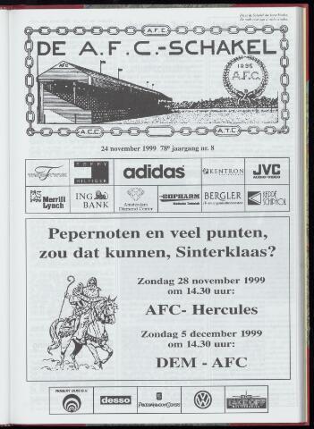 Schakels (clubbladen) 1999-11-24