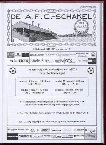 Schakels (clubbladen) 2012-02-15