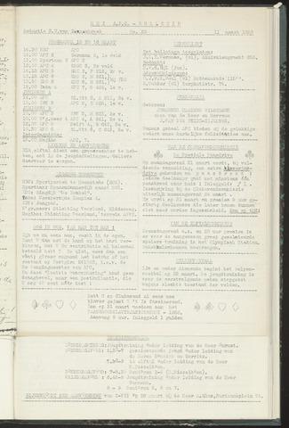 Bulletins (vnl. opstellingen) 1958-03-12