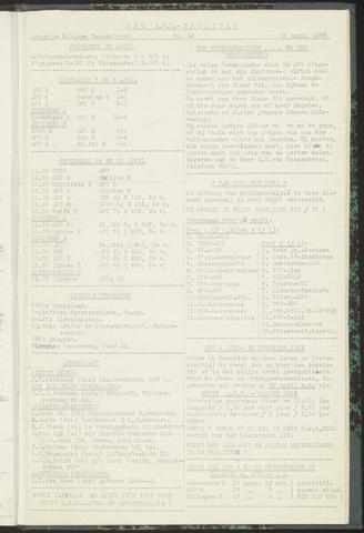Bulletins (vnl. opstellingen) 1956-04-10