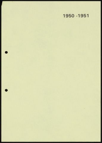 Jaarverslagen 1951-06-01