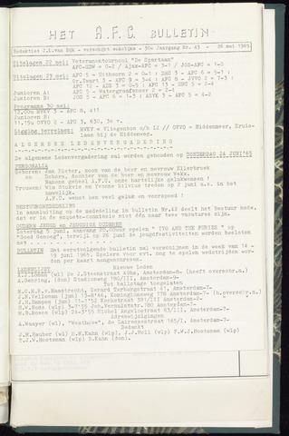 Bulletins (vnl. opstellingen) 1966-05-26