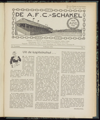Schakels (clubbladen) 1956-02-01