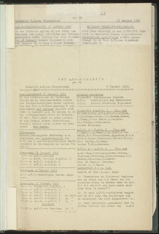 Bulletins (vnl. opstellingen) 1953