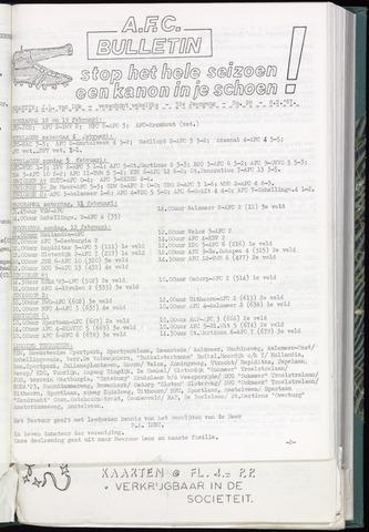 Bulletins (vnl. opstellingen) 1967-02-08