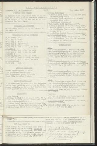 Bulletins (vnl. opstellingen) 1956-11-06