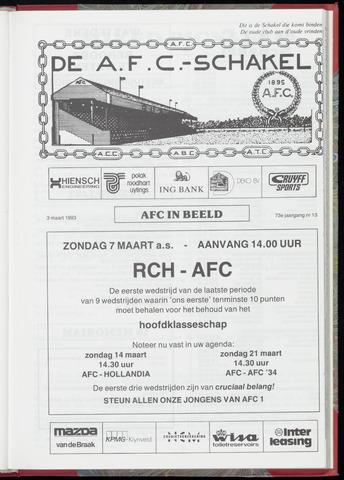 Schakels (clubbladen) 1993-03-03
