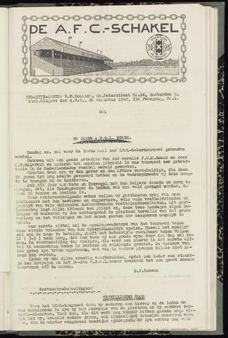 Schakels (clubbladen) 1942-08-20